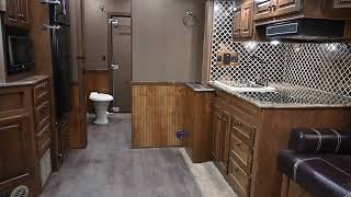 2018 Sundowner 48\x27 Toy Hauler with Slide Out and Living Quarter