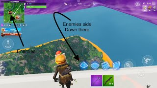 How to get over the wall in Fortnite//Food Fight Deep Fried version//NOT CLICKBAIT!!