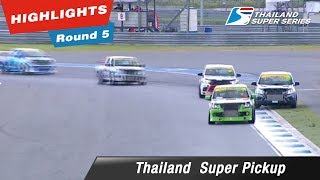 Highlights Thailand Super Pickup : Round 5 @Chang International Circuit