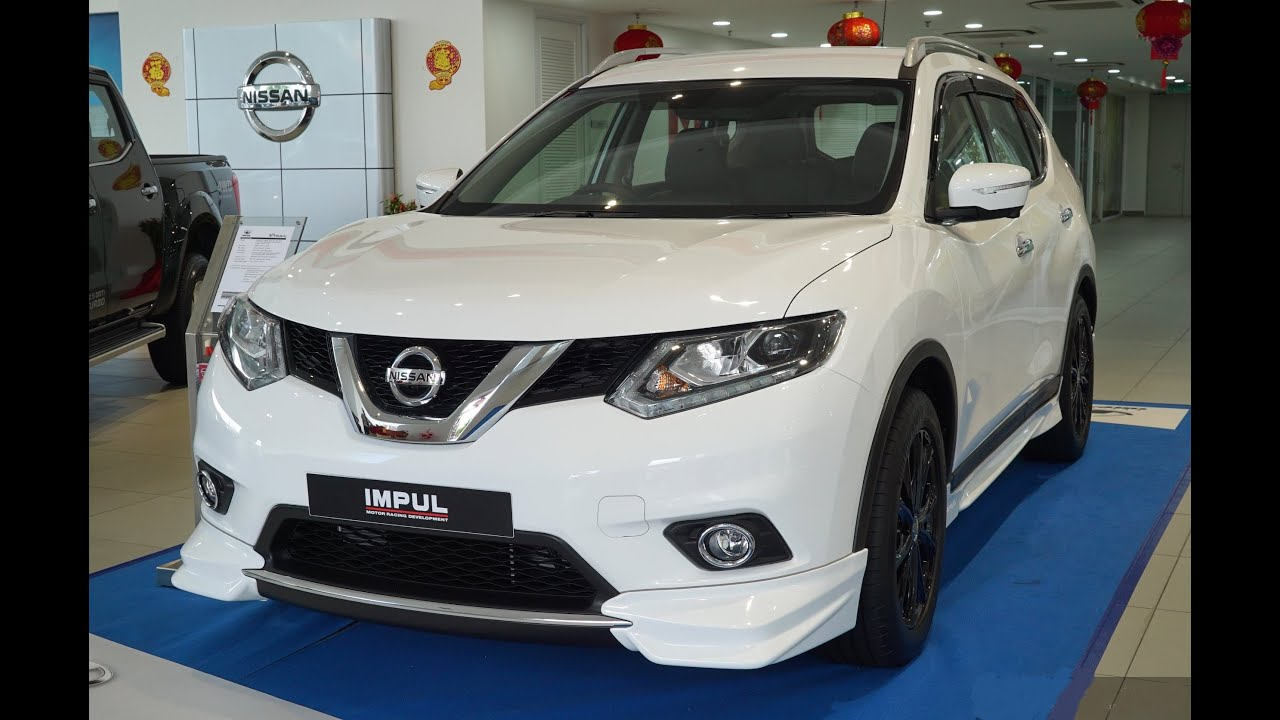 The New 2016 Nissan X Trail Impul Malaysia Interior
