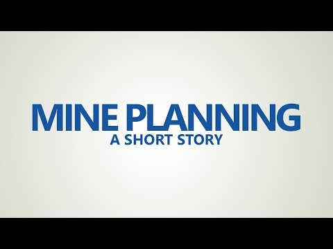 Technology for Mine Planning