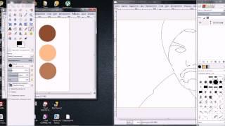 Уроки по векторной графике By RadeR|Программа Gimp-Часть 2