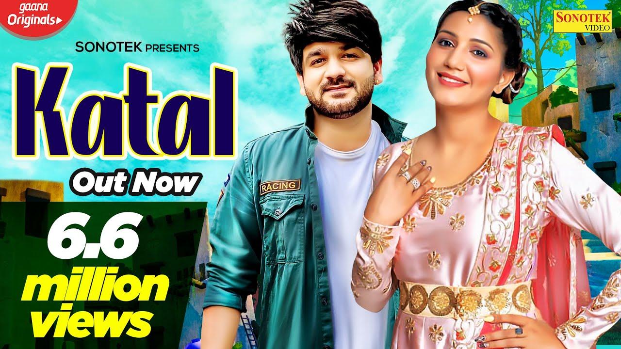 SAPNA CHAUDHARY : Katal | Mohit Sharma | New Haryanvi Songs Haryanavi 2020 | Sonotek Music