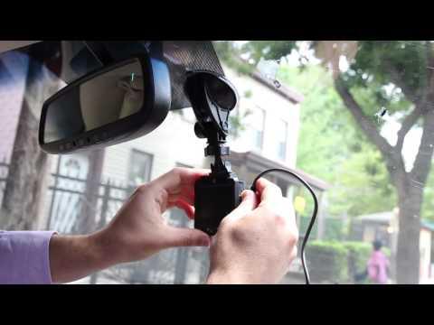 HP F210 Full HD Dash Camera Installation Tutorial