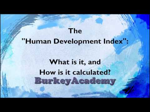 What is the Human Development Index?