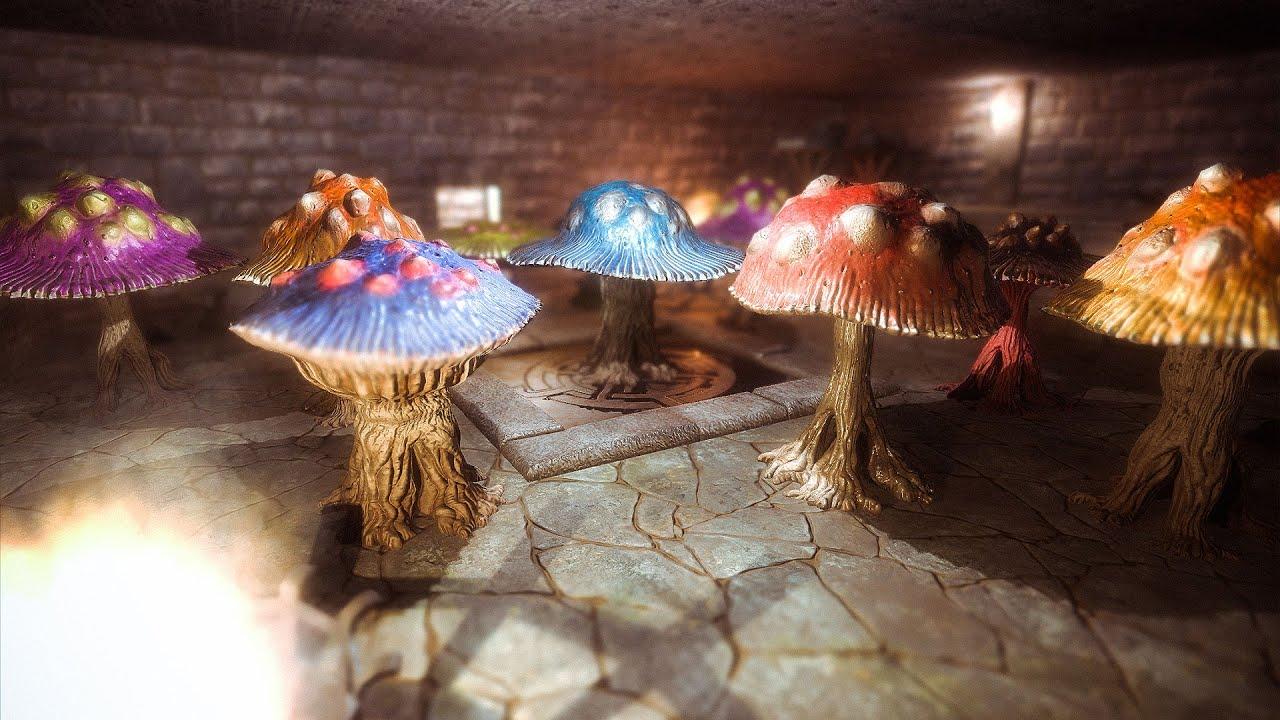 Concept Art Photoshop Mushroom