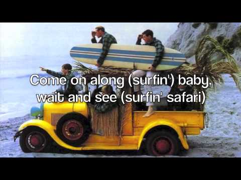 Surfin' Safari - The Beach Boys (with Lyrics)