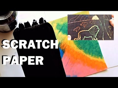 How to make SCRATCH PAPER (Scratchcard) - DIY Tutorial