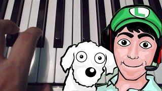 El Rap de Fernanfloo - Bambiel - Piano Tutorial - Notas Musicales thumbnail