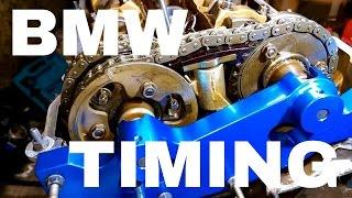 Repeat youtube video Timing setup procedure double VANOS BMW E46,E39,E60,E83,E85 M52TU,M54,M56 330,325,320