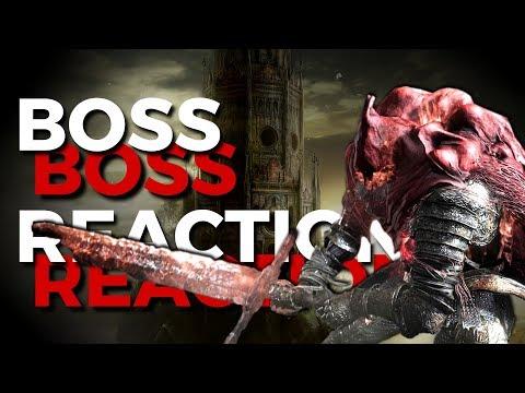 Boss Reactions | Dark Souls 3 | Slave Knight Gael