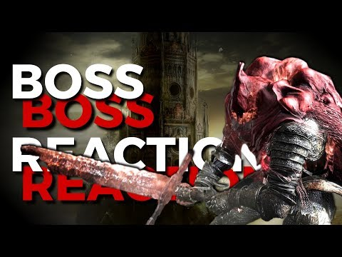 Boss Reactions | Dark Souls 3 | Slave Knight Gael