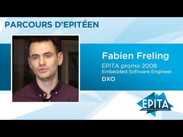Parcours d'Epitéen - Fabien Freling (promo 2008) - DXO