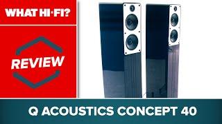 Q Acoustics Concept 40 review -- hi-fi speakers