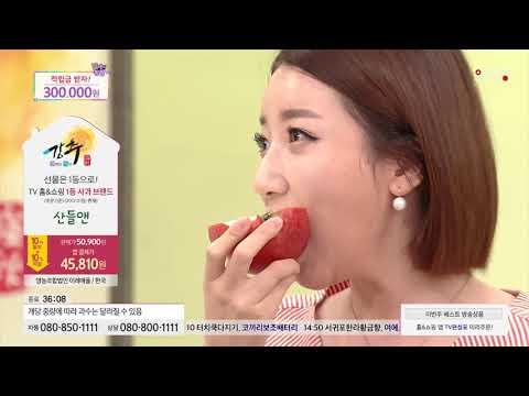 [홈앤쇼핑] [산들앤 사과배] 사과 4kg(1박스) + 배 5kg(1박스)