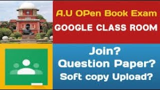 How To Upload Softcopy In Google Classroom (Tamil)? AU Reexam Softcopy Upload  #googleclasroom screenshot 2