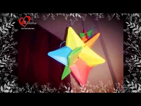 Origami Omega Star. This is the version made of a single sheet of ... | 360x480
