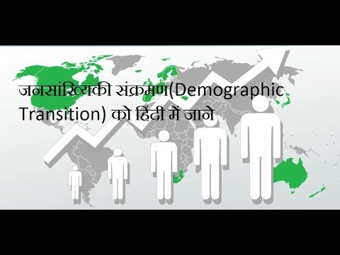 Concept of Demography(जनांकिकी) in Hindi : Human Geography