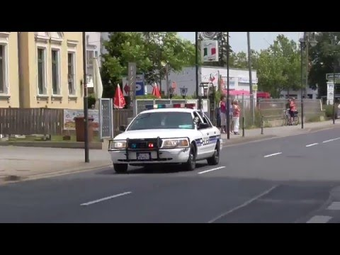 New Braunfels police cruiser in Dresden (Germany)