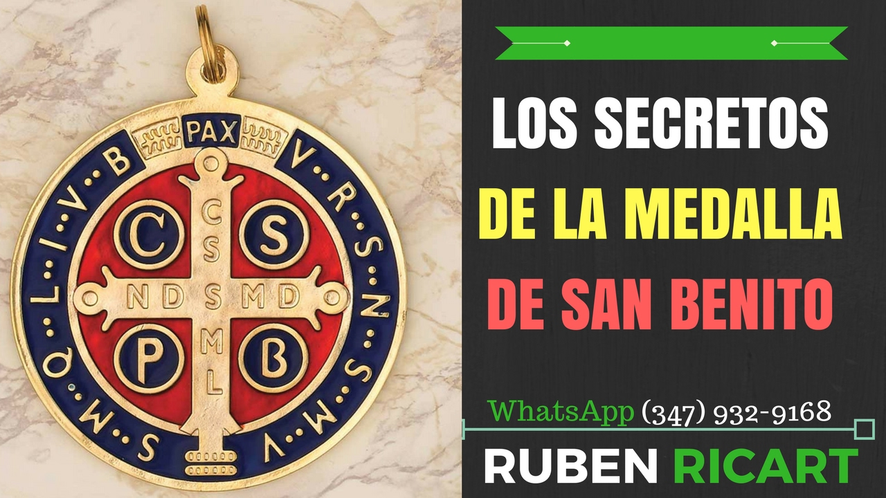 dfc60fea2bd Secretos de la medalla de San Benito- Ruben Ricart - YouTube
