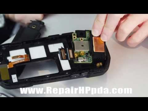 How To Disassembly Repair Manuel for Symbol TC70 - YouTube