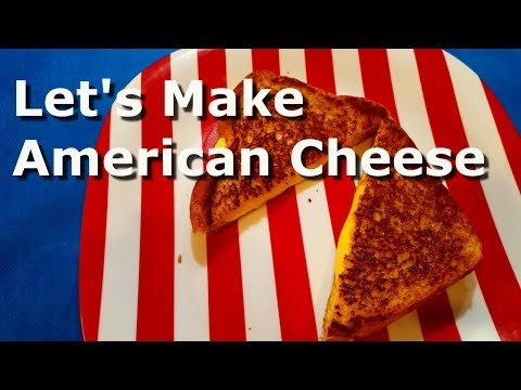 Homemade American Cheese