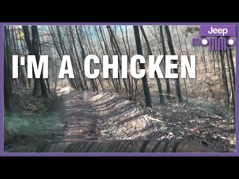 A Day in my Jeep Off Road at Rausch Creek - I'm Such a Scared Chicken!