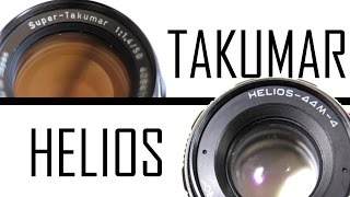 Tribute to Takumar 50mm and Helios 58mm Vintage Prime Lenses