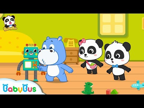 Play with Amazing Intelligent Robot | Dance Along with Baby Panda | Dancing Remix | BabyBus