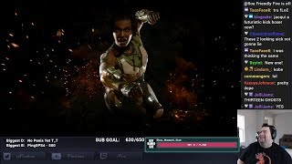 Floe Reacts to Jaqui Briggs v Kotal Kahn Mortal Kombat 11 Trailer
