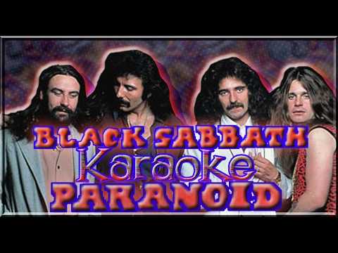 Black Sabbath * Karaoke Of Paranoid