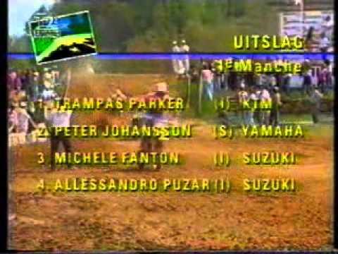 Grand Prix MX 250cc in Italy 1990
