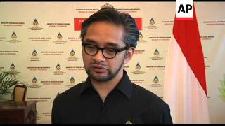 Flag at half mast at embassy, Indonesia Foreign Minister comment