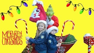Little Heroes CHRISTMAS TOWN featuring The Assistant and Grinch!!!