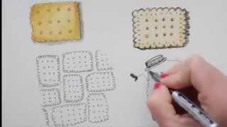 How to draw Cookies and Biscuits 2 ᴴᴰ