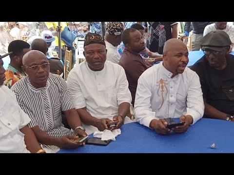 PRAYER SESSION FOR MC OLUOMO BIRTHDAY IN LAGOS