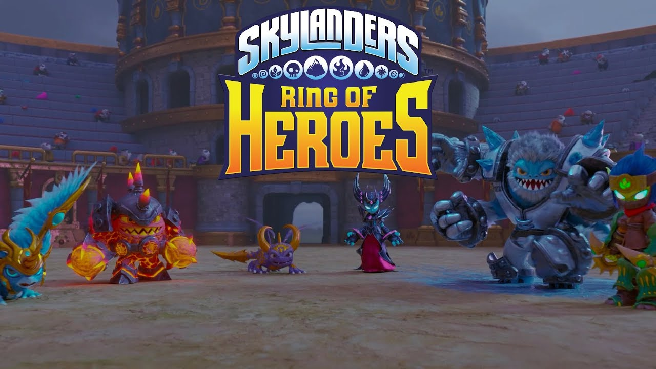 Skylanders Ring Of Heroes Lands On The Play Store With All
