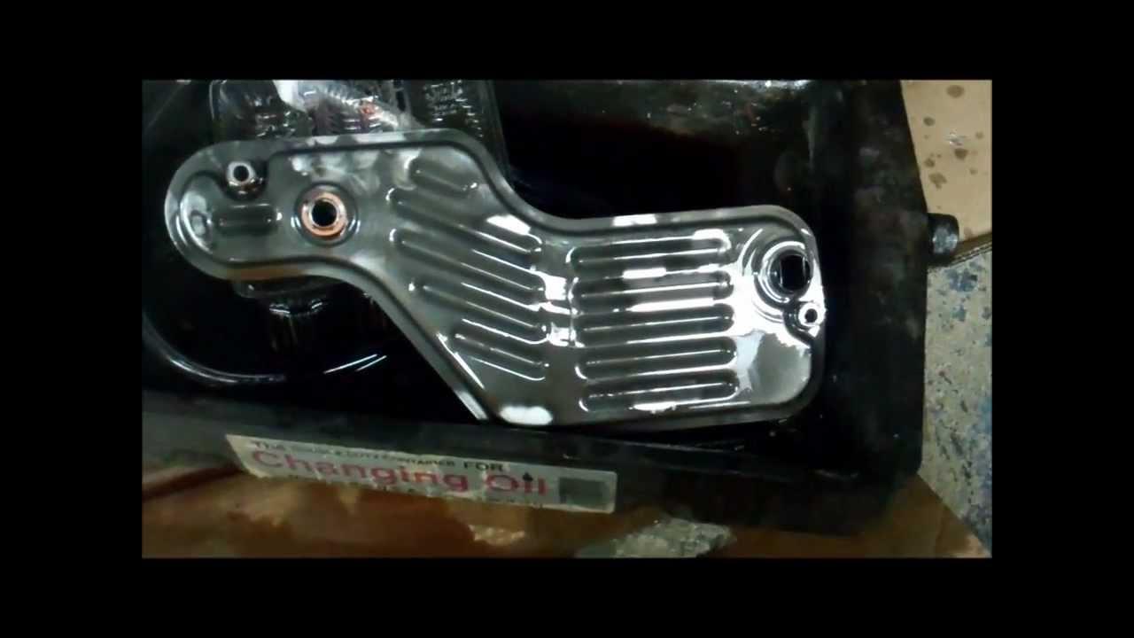 Ford Oil Change >> 2004 Explorer Trans Filter Change.wmv - YouTube