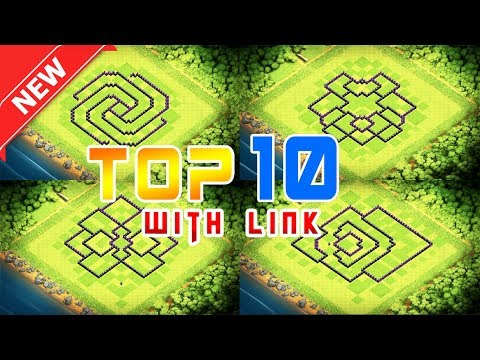*Top 10* Town Hall 9 Bases + With Link 2019 | Th 9 Best Bases | Clash Of Clans