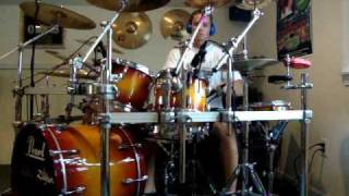 Red hot chili peppers- can't stop (drum cover)