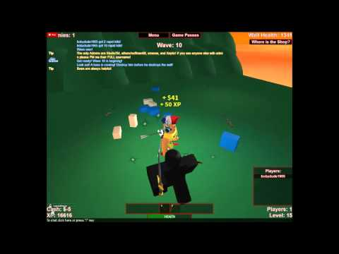 Defend The Frontier Roblox Roblox How To Defend The Frontier On Defend The Frontier By Xeptix Youtube