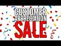 Customer Appreciation Event | This Week Only! [4/17-4/24]