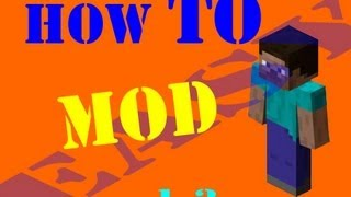 Easiest Way to install a Minecraft Mod (Mac) (PC) 1.7.2