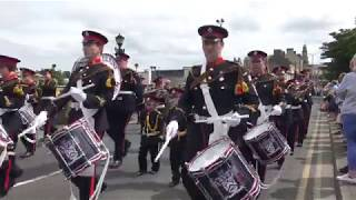 Armed Forces Day Parade Coleraine 2018 FULL CLIP (3)