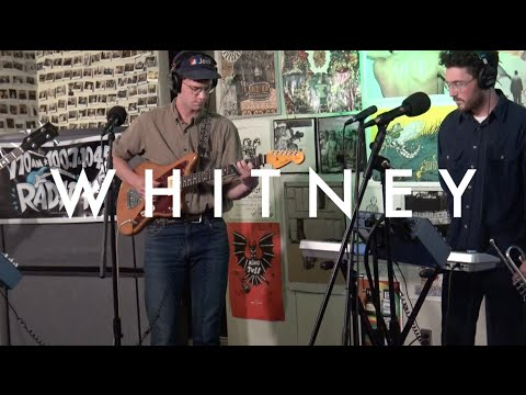 """Whitney - """"Dave's Song"""" (Live on Radio K)"""