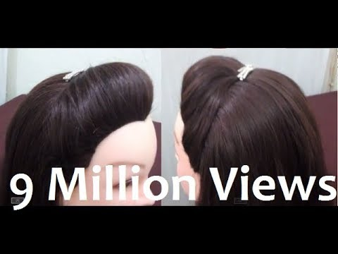 how to make girls hair style how to make a puff in your hair without hairspray 8164 | hqdefault