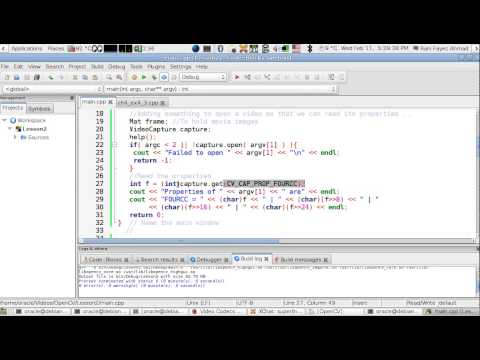 OpenCV Using C++ Lesson 30:Printing The FourCC Of A Video (Arabic