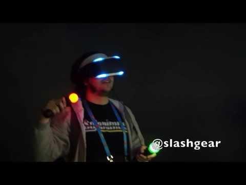 Sony Project Morpheus GDC 2014