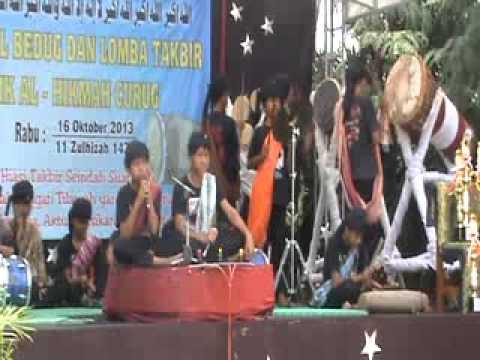 FESTIVAL BEDUG DAN TAKBIR 2013 SMK AL-HIKMAH CURUG TANGERANG