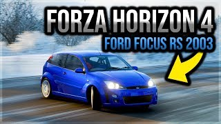 Forza Horizon 4 PC - Ford Focus RS 2003 | #6 Test Drive - Winter | 1080p & 60 FPS